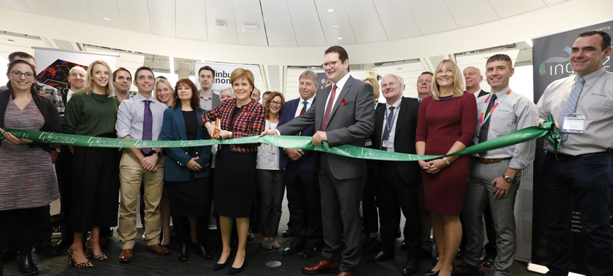 First Minister opens Roslin Innovation Centre
